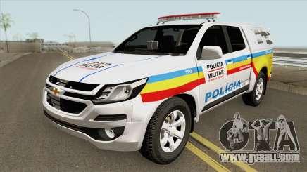 Chevrolet S10 (Policia Militar) 2019 for GTA San Andreas