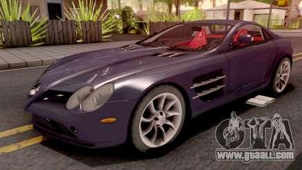 Mercedes-Benz SLR Violet for GTA San Andreas