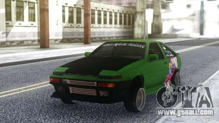 Toyota Corolla AE86 Coupe 1984 for GTA San Andreas