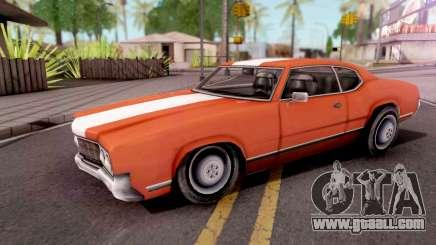 Sabre Turbo GTA VC Xbox for GTA San Andreas