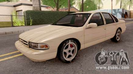 Chevrolet Impala SS 1996 MQ for GTA San Andreas