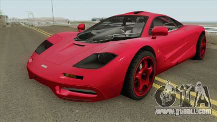 Mclaren F1 IVF for GTA San Andreas