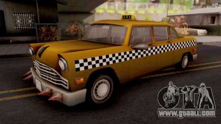 Borgine Cab GTA III Xbox for GTA San Andreas
