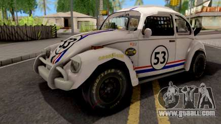 Volkswagen Herbie Nascar for GTA San Andreas