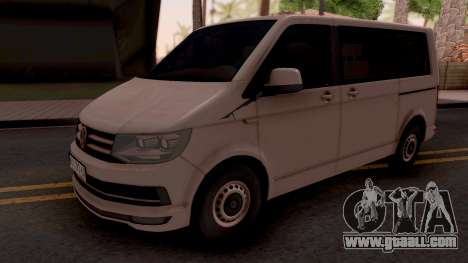Volkswagen Transporter T6 2018 for GTA San Andreas