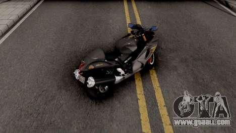 Suzuki GSX1300R Hayabusa 2015 HQLM for GTA San Andreas