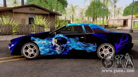 New Paint Job To Elegy for GTA San Andreas
