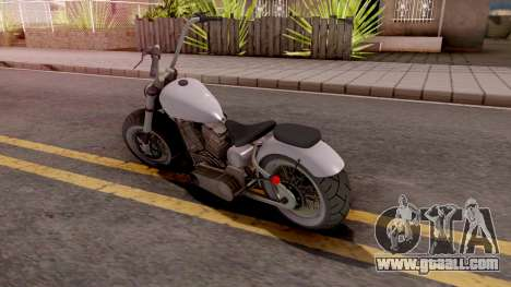 Zombie Metal Claro for GTA San Andreas