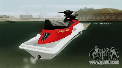 Speedophile Seashark Lifeguard GTA V for GTA San Andreas