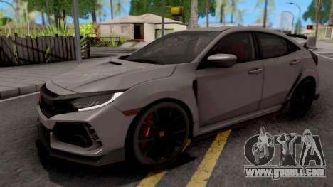 Honda Civic Type-R 2018 HQ for GTA San Andreas