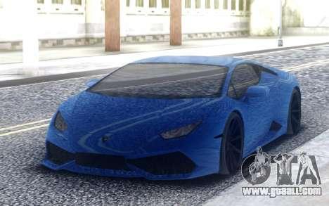 Lamborghini Huracan 3000HP DRAGTIMES for GTA San Andreas