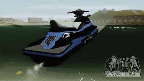 Speedophile Seashark Yatch GTA V for GTA San Andreas