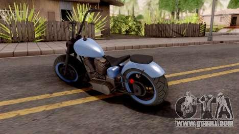 Zombie Metal Negro for GTA San Andreas