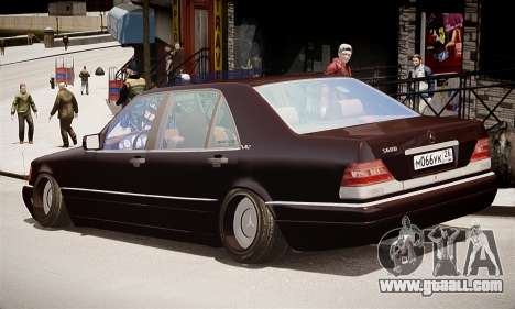 Mercedes-Benz S600 for GTA 4