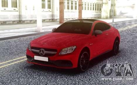Mercedes-Benz C63S AMG for GTA San Andreas