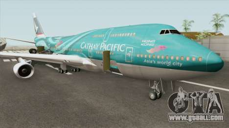 Boeing 747-400 RR RB211 (Cathay Pacific Livery) for GTA San Andreas