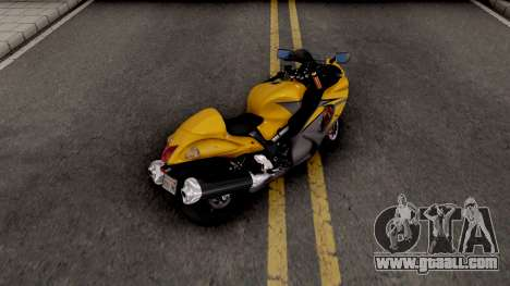 Suzuki GSX1300R Hayabusa 2015 IVF for GTA San Andreas