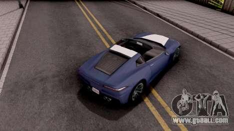 Invetero Coquette GTA 5 for GTA San Andreas