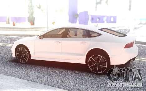 Audi RS7 for GTA San Andreas