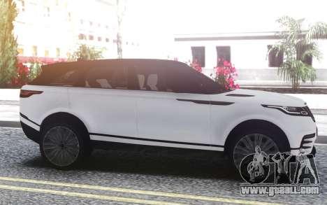 Land Rover Range Rover Velar for GTA San Andreas