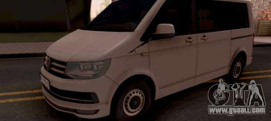 Volkswagen Transporter T6 2018 For GTA San Andreas