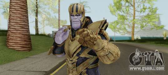 Thanos (EndGame) For GTA San Andreas