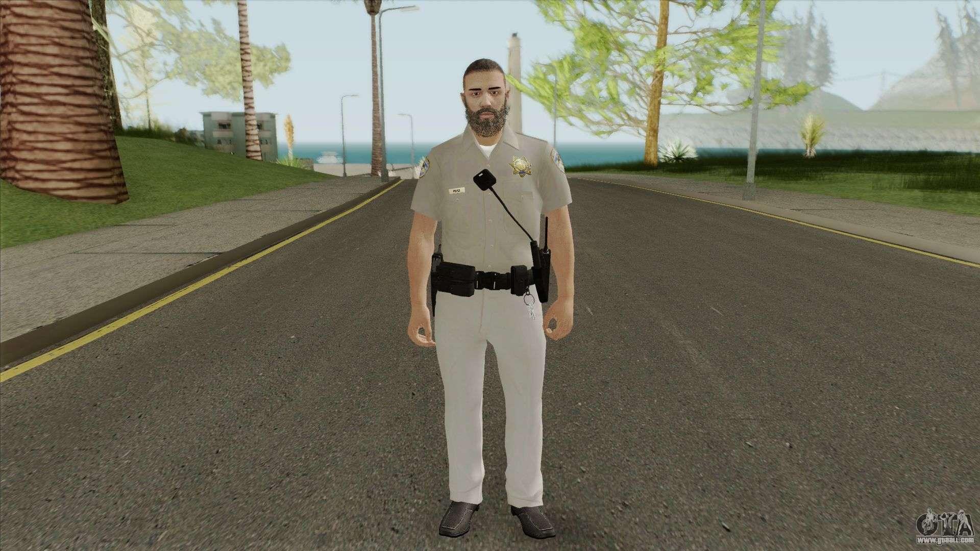 SAHP Officer Skin V2 For GTA San Andreas