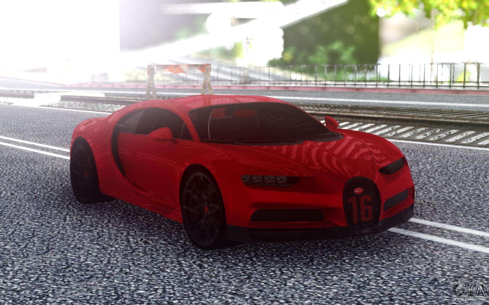 Bugatti Chiron Sport 110 1900hp For Gta San Andreas