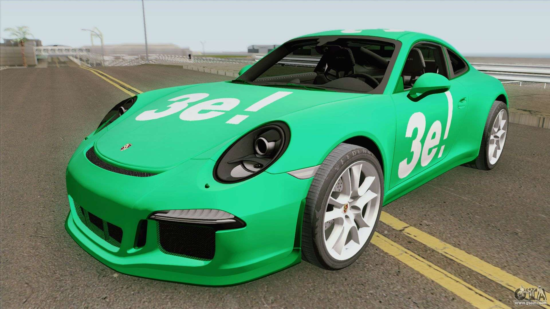Porsche 911 R 2016 (3E Gang) For GTA San Andreas