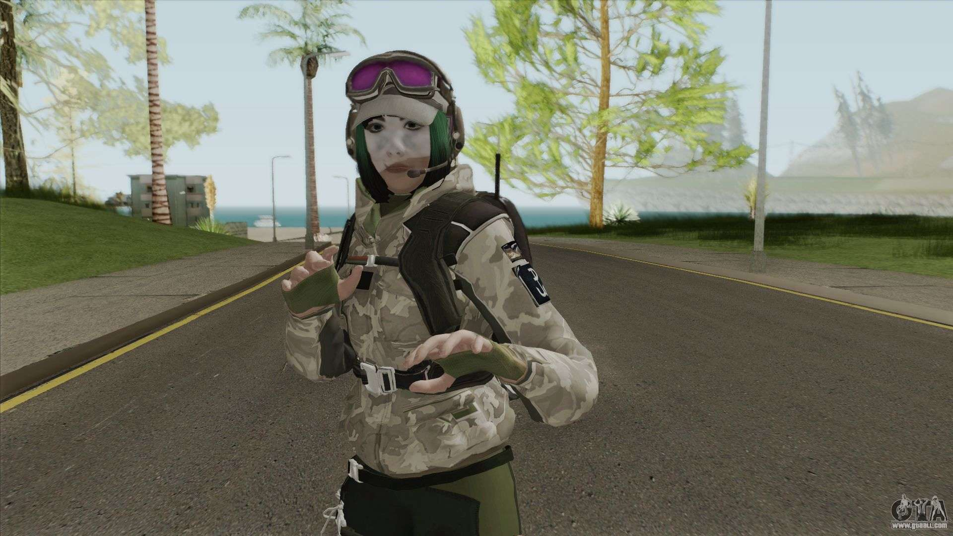 Ela Rainbow Six Siege For Gta San Andreas