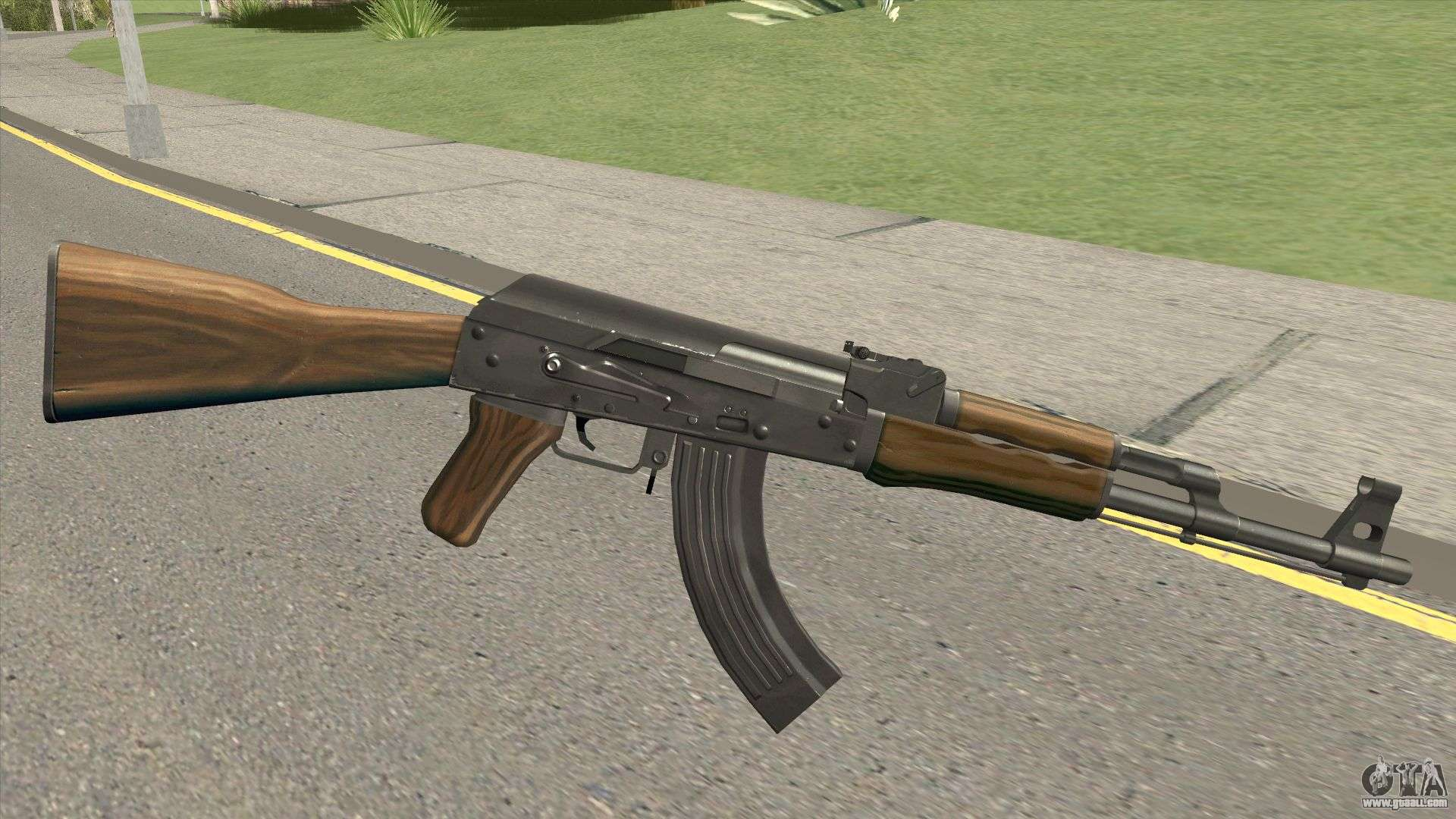 Firearms Source AK-47 For GTA San Andreas