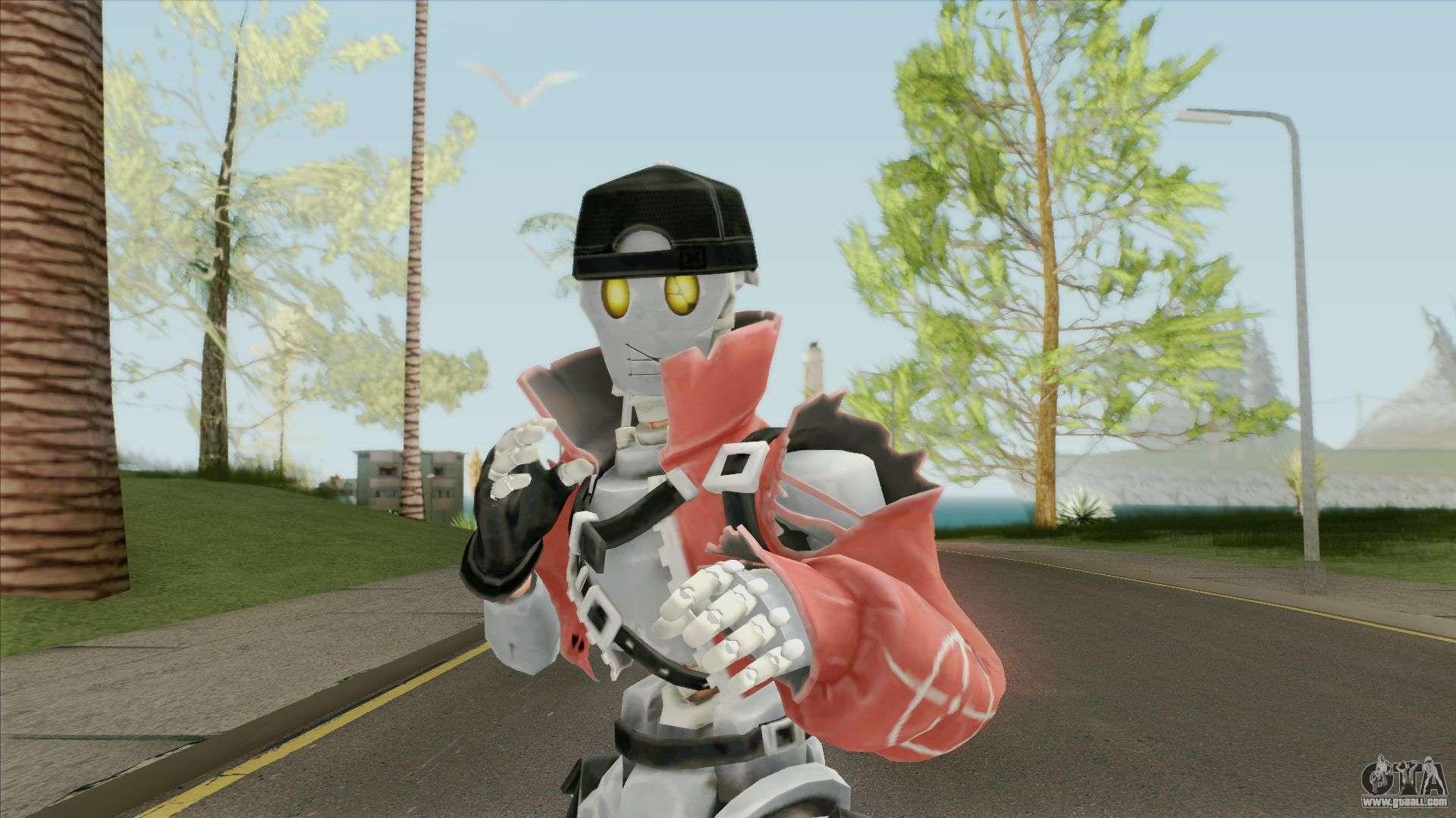 Rebel From Fortnite For GTA San Andreas