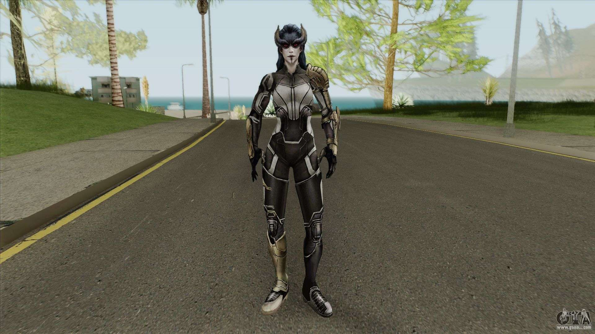 Proxima Midgnit (The Black Order) For GTA San Andreas