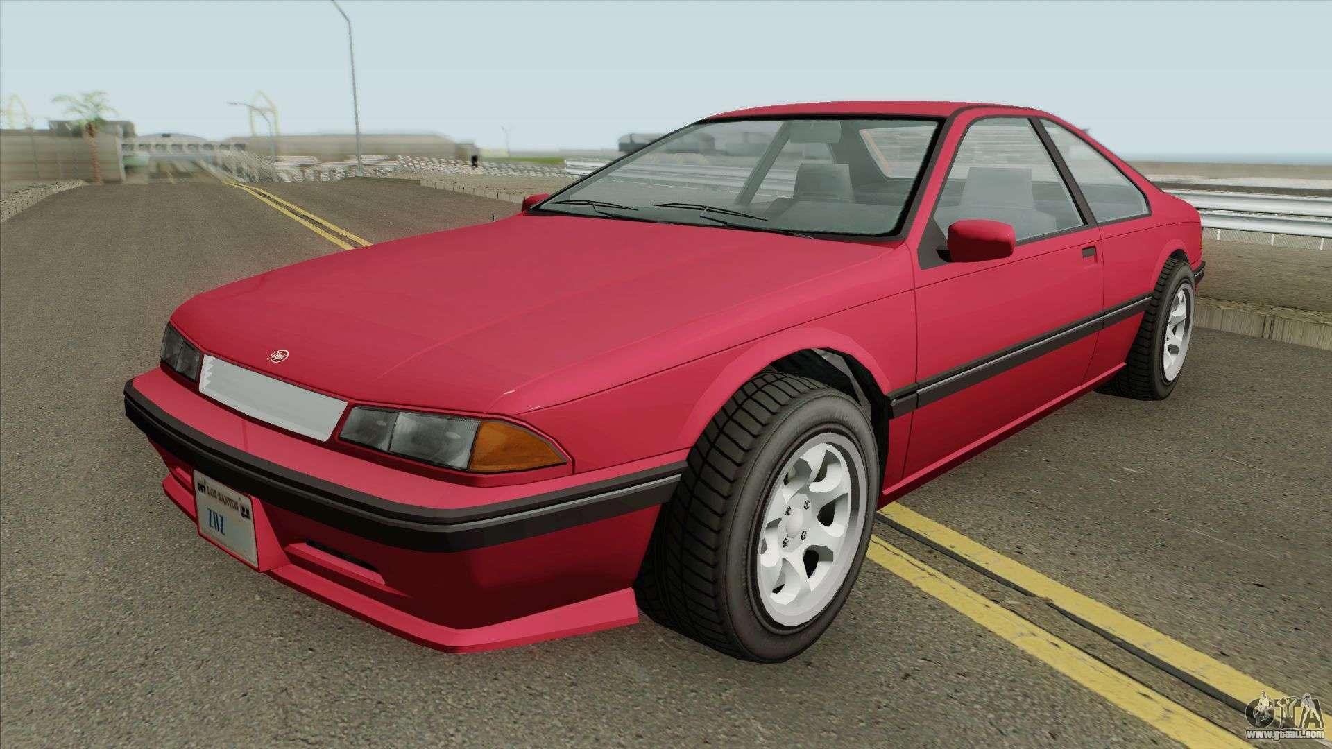 Vapid Fortune GTA IV for GTA San Andreas