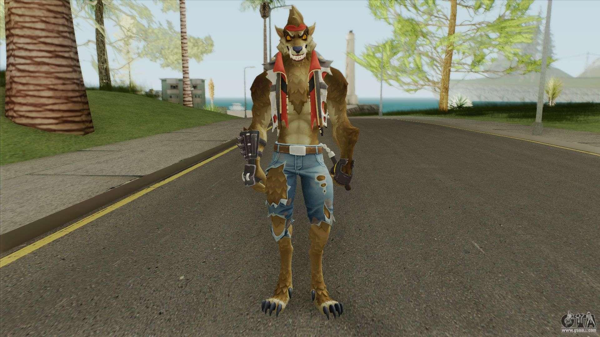 Dire Tier 3 (Fortnite) For GTA San Andreas