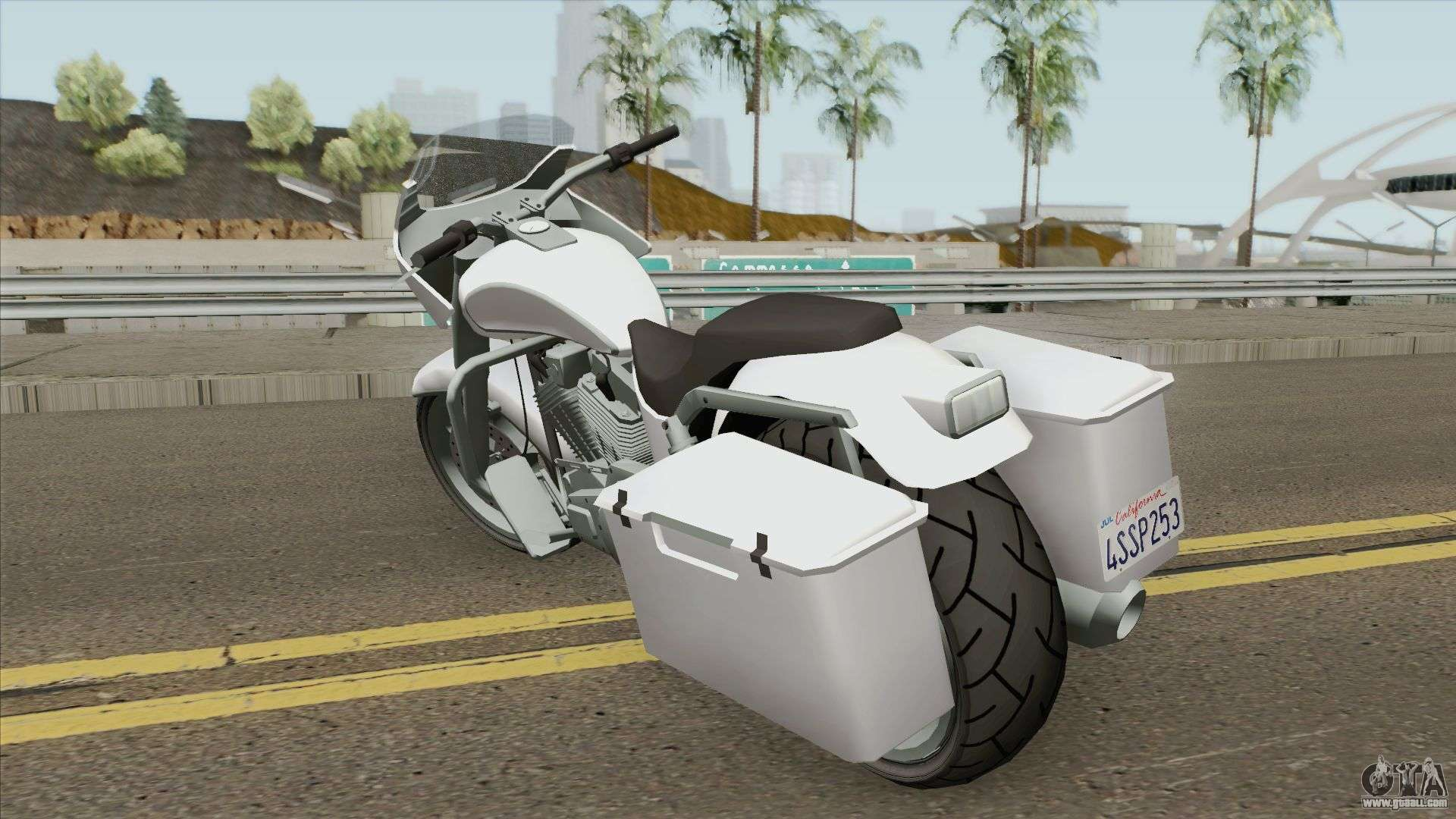 Bagger GTA V For GTA San Andreas