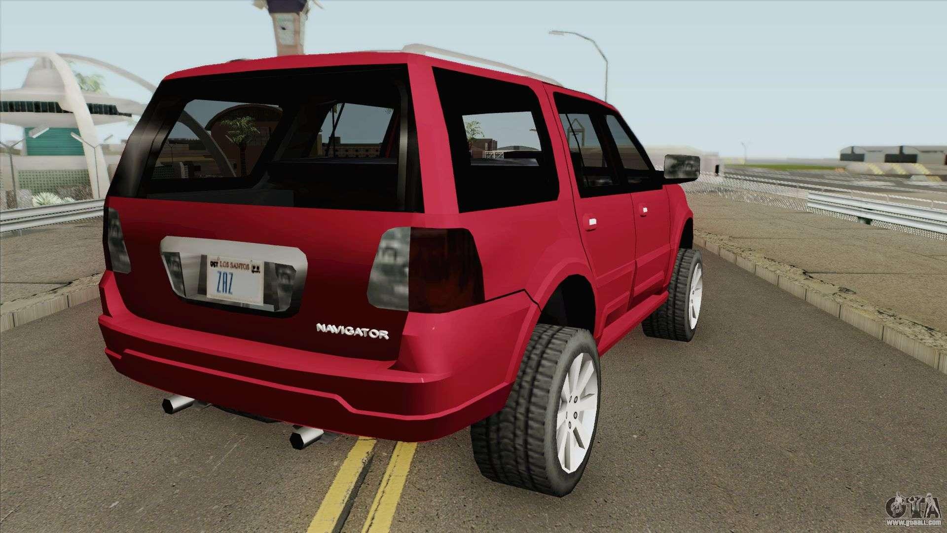 Lincoln Navigator 2004 (SA Style) For GTA San Andreas