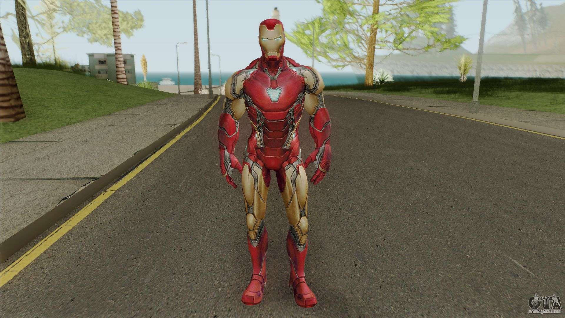Iron Man MK85 - Avengers EndGame (MFF) for GTA San Andreas