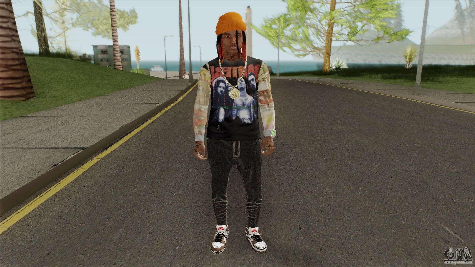LiL GNAR For GTA San Andreas