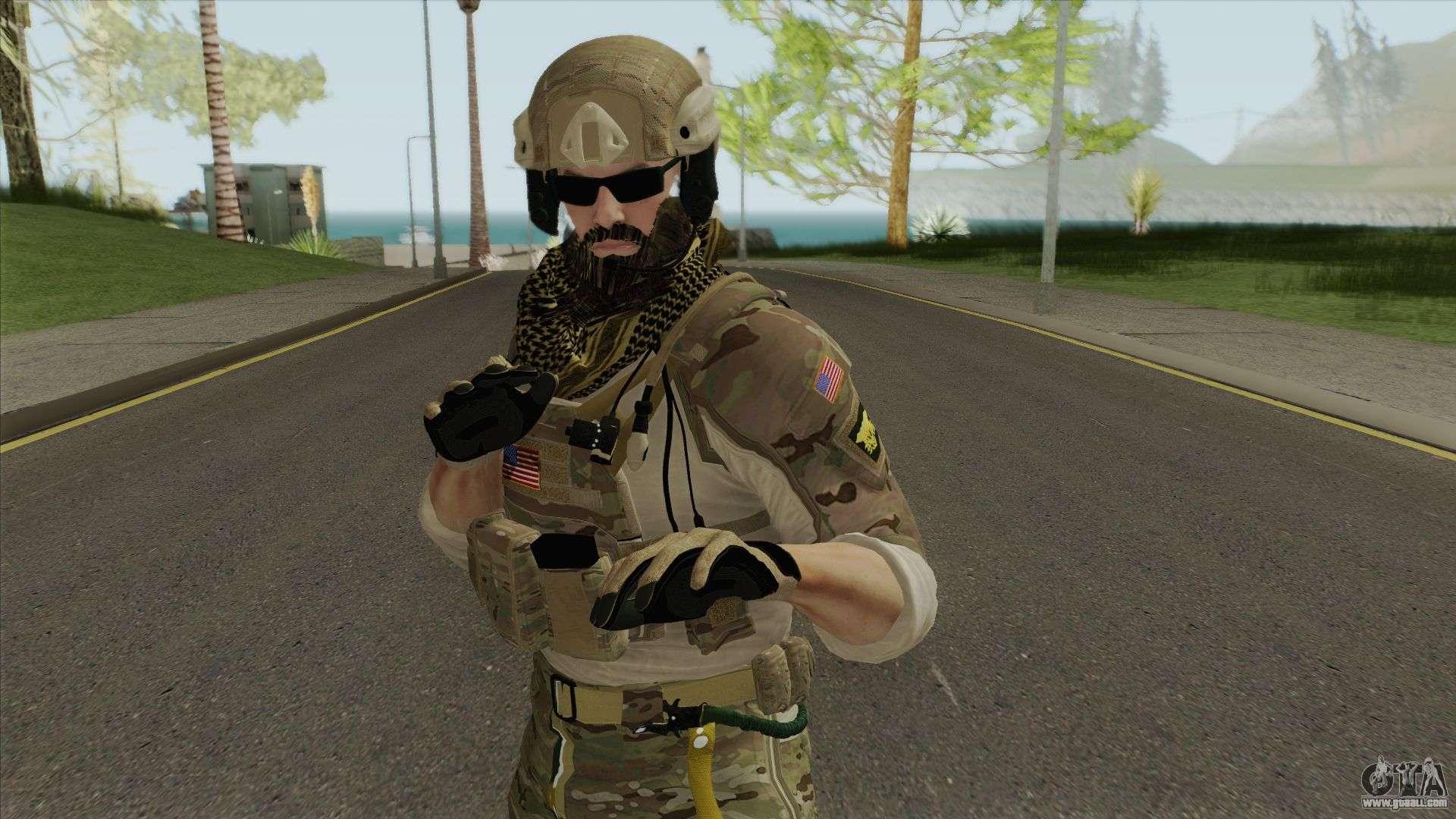 Blackbeard Rainbow Six Siege For Gta San Andreas
