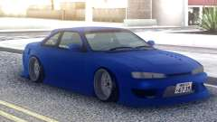 Nissan Silvia S14 Blue Stock for GTA San Andreas