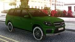 Mercedes-Benz GL 63 AMG Green for GTA San Andreas