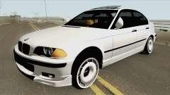 BMW 320d E46 Sedan MQ for GTA San Andreas