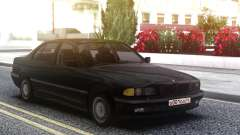 BMW 730i e38 Black for GTA San Andreas