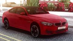 BMW M4 Coupe Red for GTA San Andreas