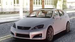 Lexus IS-F 2009 Civil for GTA San Andreas