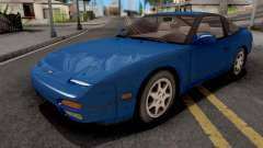 Nissan 240SX Blue for GTA San Andreas