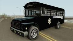 Prision Bus GTA V (Los Angeles County) for GTA San Andreas