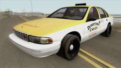 Chevrolet Caprice Taxi 1996 MQ for GTA San Andreas