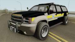 Chevrolet Suburban (Sheriff Blaine County) for GTA San Andreas